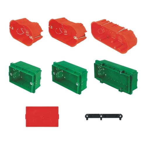 Montazne kutije, zastitni poklopci montaznih kutija, vezni element