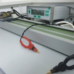 Milliohmmeter with clamping device for cables resistance measuring