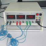 Three-chanel electronic stopwatch