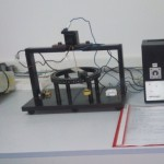 Test apparatus for deflection on screwless terminals